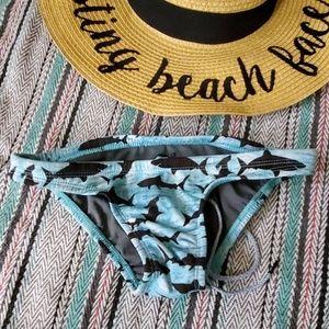 Mallyce x X Joyln Shark Print Bottoms Size XS